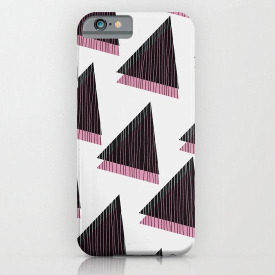 Pink Triangles III iPhone & iPod Case