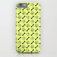 Paw Prints & Bones iPhone 6 Slim Case