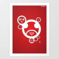 RED - Type Face Art Print