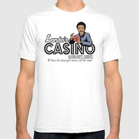 Lando's Casino Mens Fitted Tee White SMALL