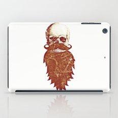 Beard Skull 2 iPad Case