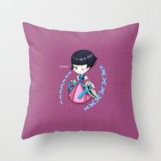 Chibi_corea Throw Pillow