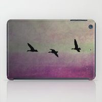 Goose Flight - JUSTART © iPad Case