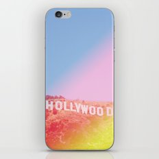 Colorful Hollywood Sign  iPhone & iPod Skin