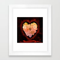 ANTI VALENTINE - 198 Framed Art Print