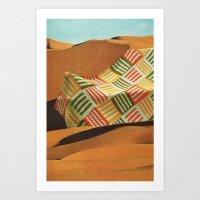 The Shifting Sands Art Print