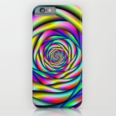 Rainbow Spiral Alternative color iPhone 6 Slim Case