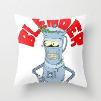 Blender Throw Pillow