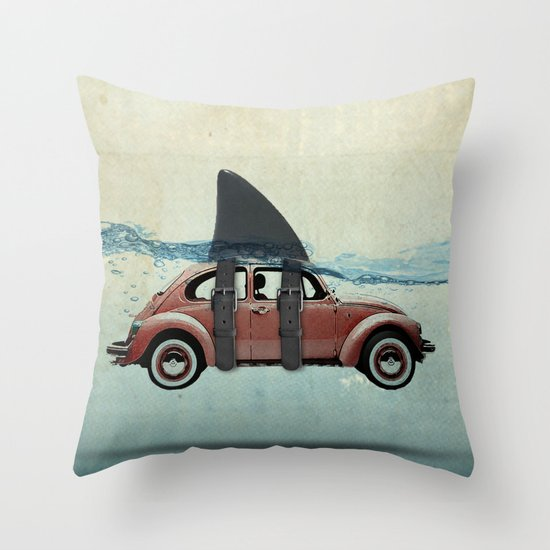 VW soup Throw Pillow