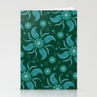 Floral Obscura Stationery Cards