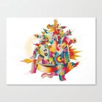 Firespirit in a box Canvas Print