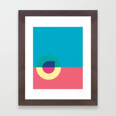 Cacho Shapes LXXIII Framed Art Print