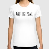 ORIGINAL Womens Fitted Tee White SMALL
