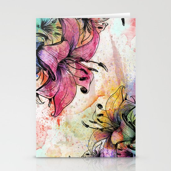 Flowerz Stationery Card