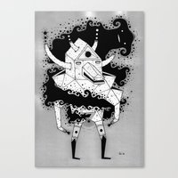 inner spiritz Canvas Print