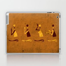 Forms of Prayer - Yellow Laptop & iPad Skin