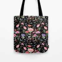 Wilderness Pattern Tote Bag