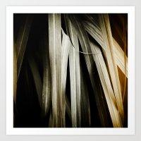 Leafy Grass Detail Art Print