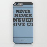 iPhone & iPod Case featuring Never by NeilRobertLeonard
