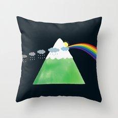 Prismountain Throw Pillow