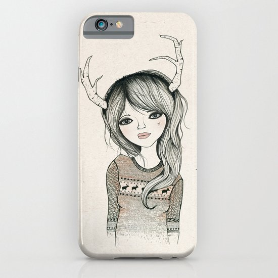 Antler Girl iPhone & iPod Case