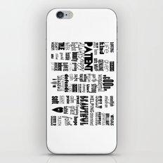 MOM iPhone & iPod Skin