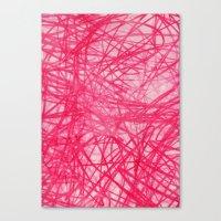 Ophelia Pink Canvas Print