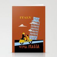 italy Stationery Cards featuring Italy by Laurel Natale