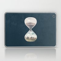 There's A City Where Time Stopped Long Ago Laptop & iPad Skin