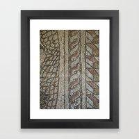 Ravenna Tiles Framed Art Print