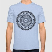 Look Into My Eye Mens Fitted Tee Athletic Blue SMALL
