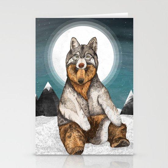 Wear Wolf Stationery Card