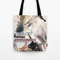 The Camel Cried Wolf Tote Bag