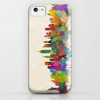 iPhone 5c Cases featuring New York City Skyline by artPause