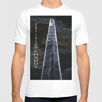 The Shard london Art Mens Fitted Tee White SMALL