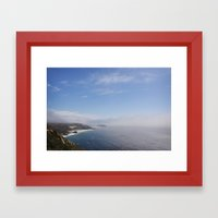 cali coast Framed Art Print
