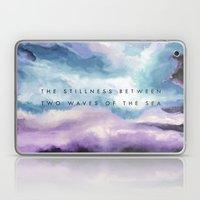 Stillness [Collaboration with Jacqueline Maldonado] Laptop & iPad Skin