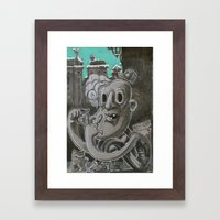 F.U.C.K Framed Art Print