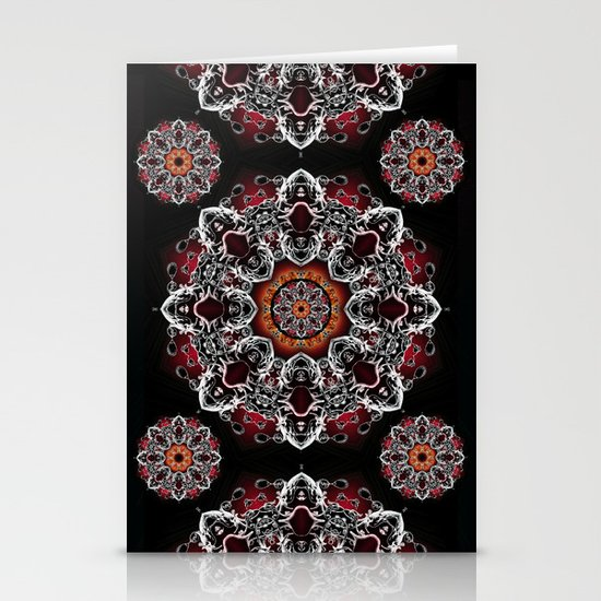 Power Mandala Stationery Card