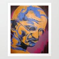 Gandhi Art Print