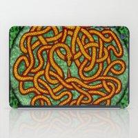 quozarrah jungle serpent mandala iPad Case