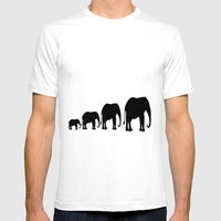 Follow The Leader Mens Fitted Tee White SMALL