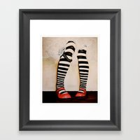Which Way Ought I to go From Here? Framed Art Print