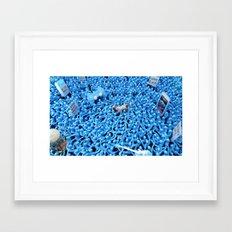 Oppression - Teenager Framed Art Print