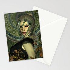 The dark fairy Stationery Cards