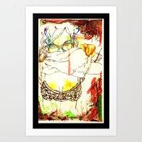 Tease. . . Art Print