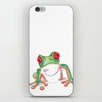 Froglet iPhone & iPod Skin