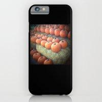 Pumpkins On Display iPhone 6 Slim Case