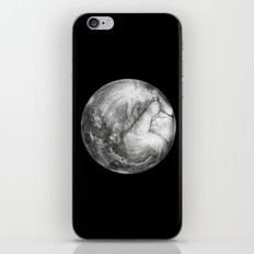 The moon iPhone & iPod Skin