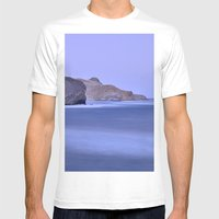 Cabo De Gata Mens Fitted Tee White SMALL